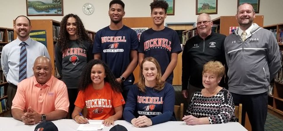 Athens' Gambrell signs Letter of Intent to compete at Division I Bucknell