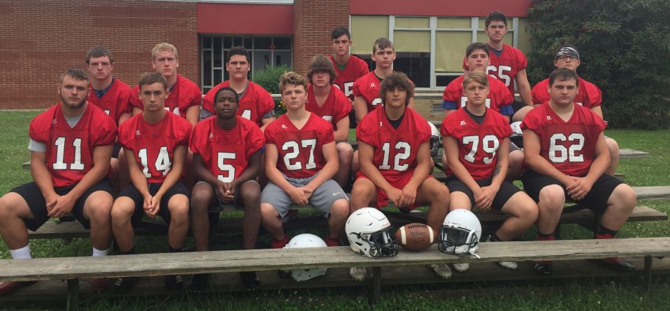 2019 Bucktail Varsity Football Team