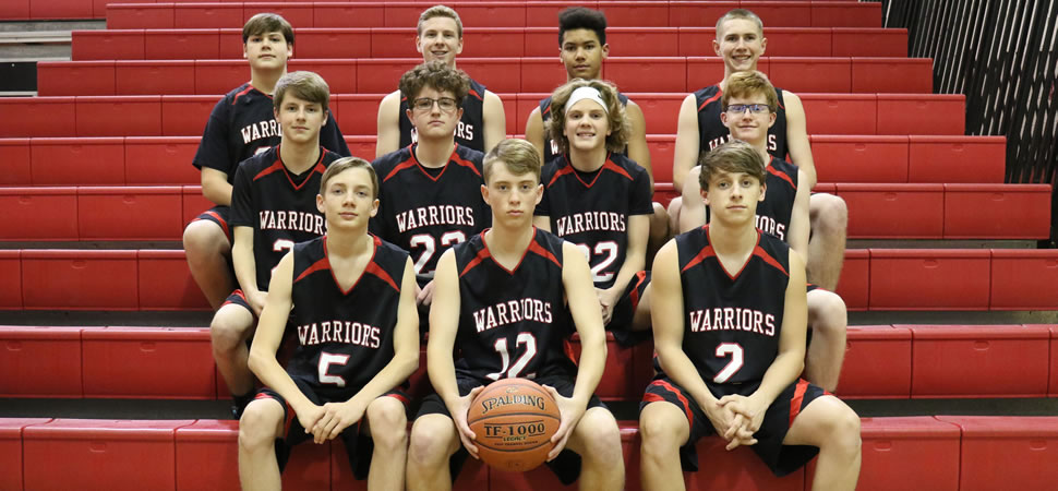 2018 Canton Warriors Junior Varsity Boys Basketball Roster