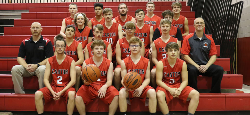 2018 Canton Warriors Varsity Boys Basketball Roster
