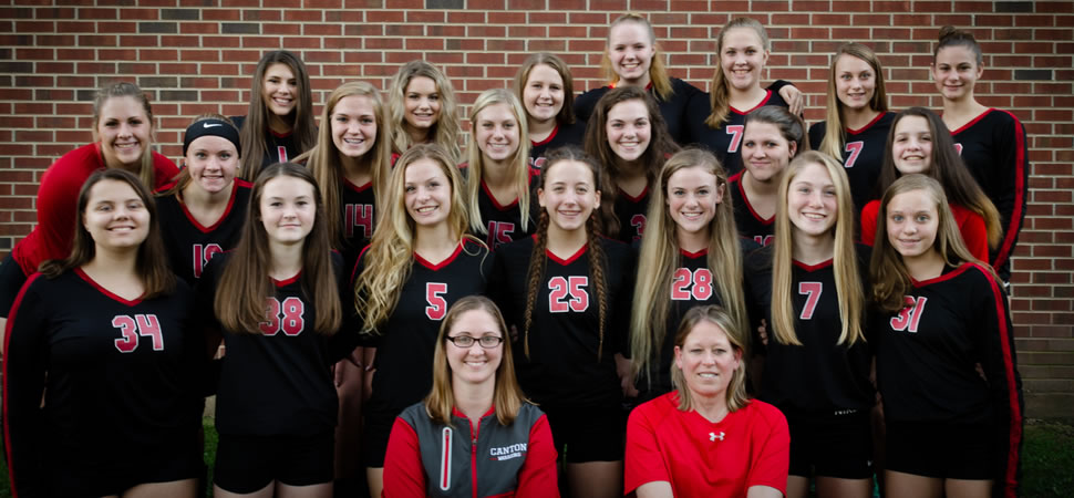 2018 Canton Warriors Varsity Volleyball Roster