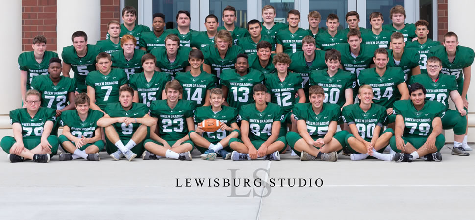 2018 Lewisburg Green Dragons Varsity Football Roster
