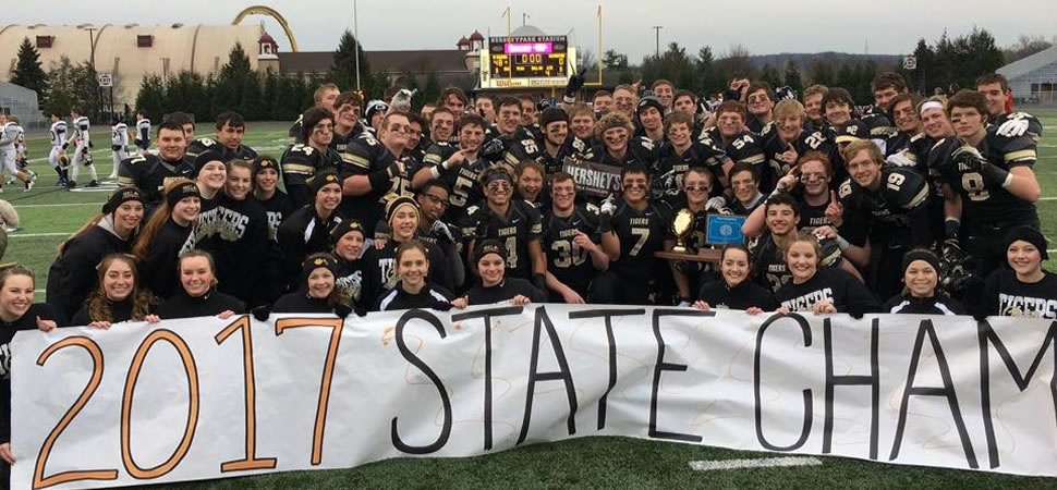 Tigers finish off perfect season for state gold.