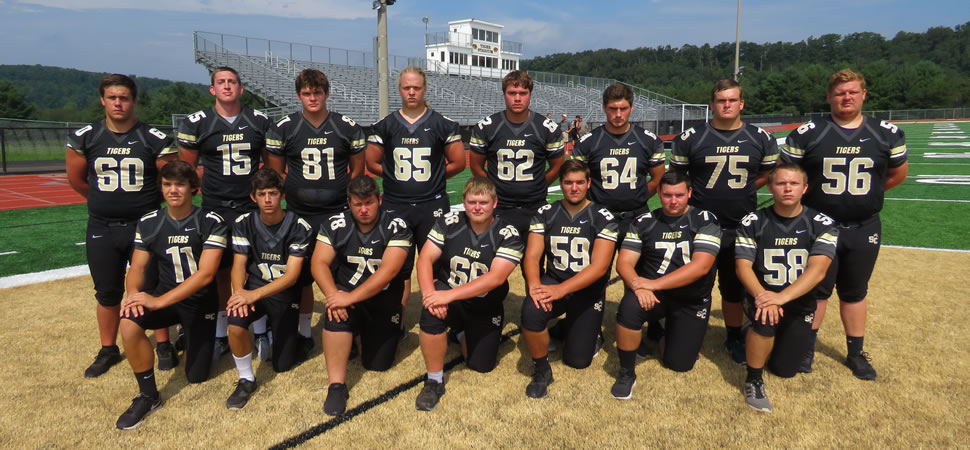2018 Southern Columbia Tigers Senior Class Football Roster