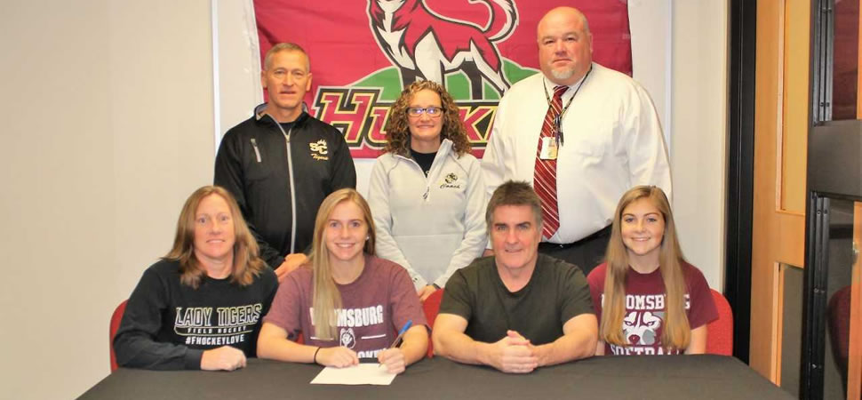 Longenhagen chooses Bloomsburg for Field Hockey.