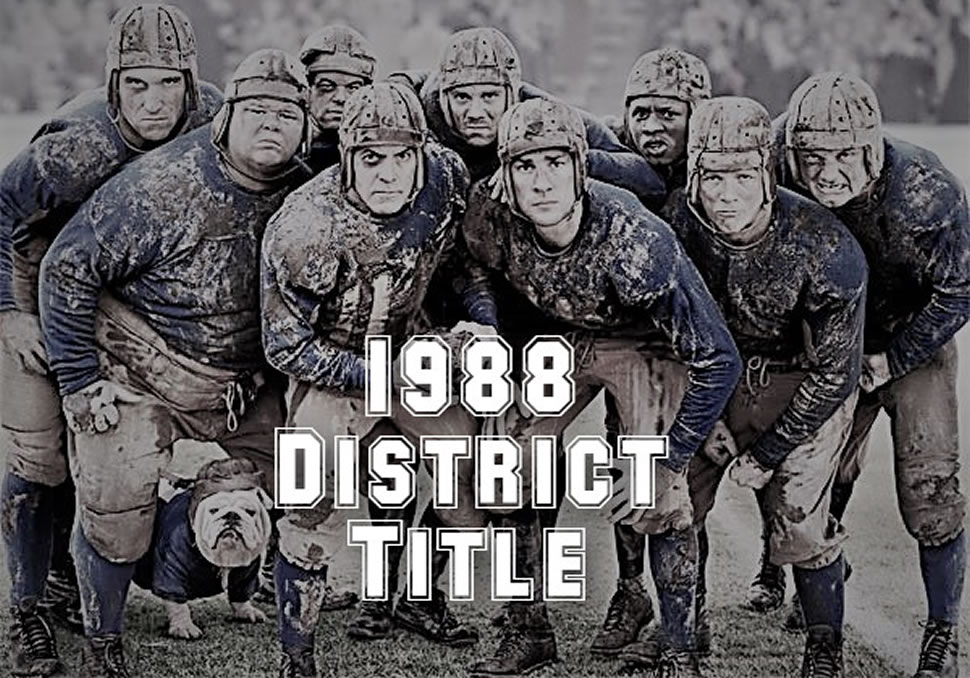 30th Anniversary of First District Title!