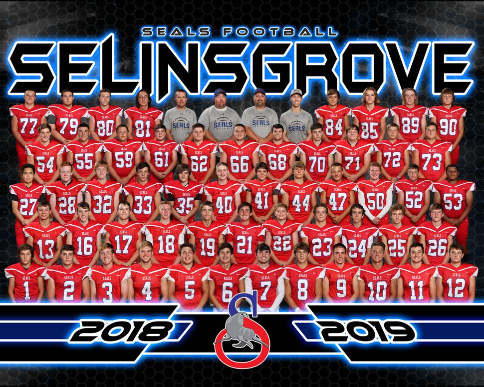 2018 Selinsgrove Seals Varsity Football Roster