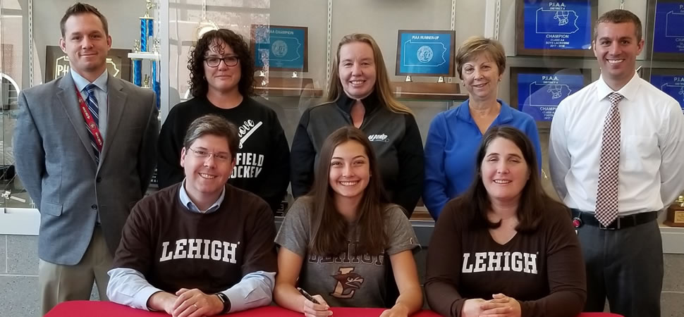 Piecuch signs with Lehigh for Field Hockey.