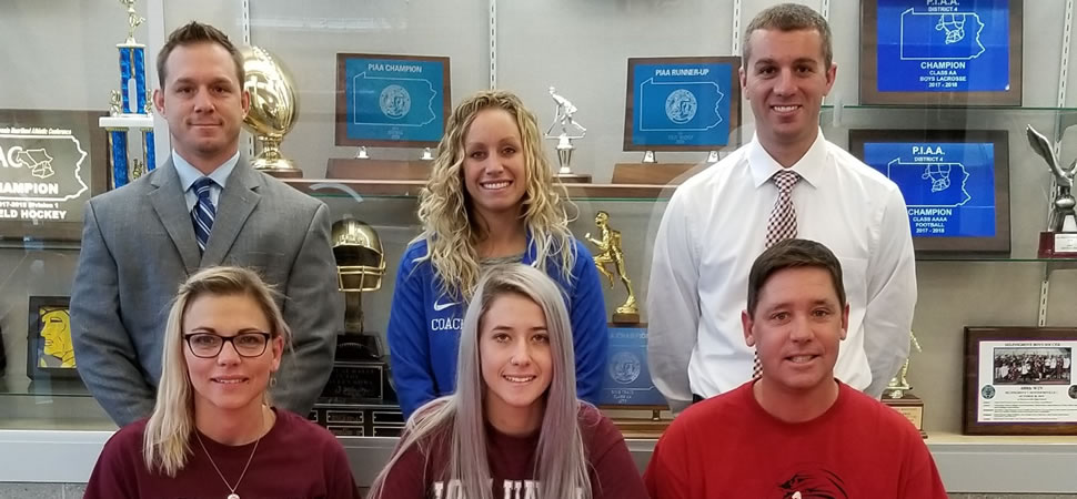Sprenkel signs with Lock Haven to continue soccer career