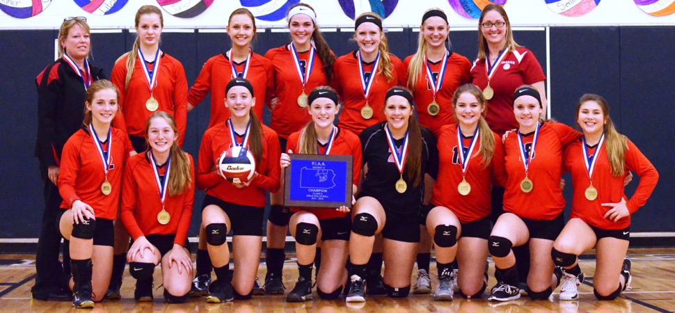 Canton tops Cowanesque Valley 3-1 to win D4 Class A volleyball title.