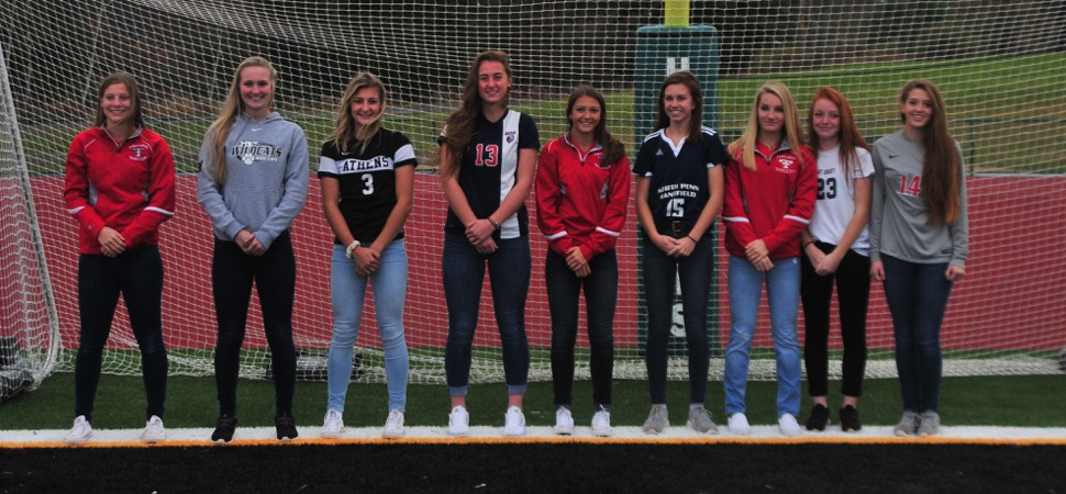 2017 NTL Girls Soccer All-Stars announced.