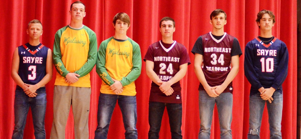 2017-18 NTL Small School Boys Basketball All-Stars announced.