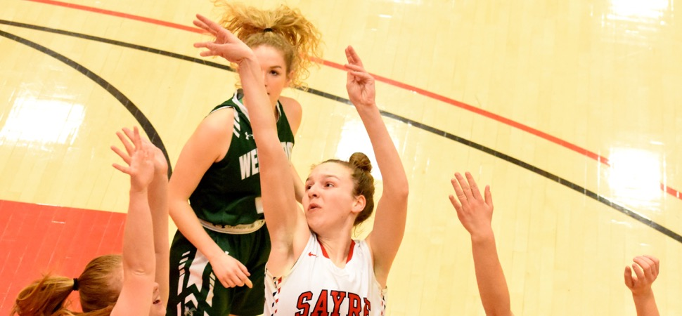 Lane's 14 leads East All-Stars past West, 54-34.