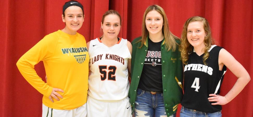 2018-19 NTL Large School Girls Basketball All-Stars announced