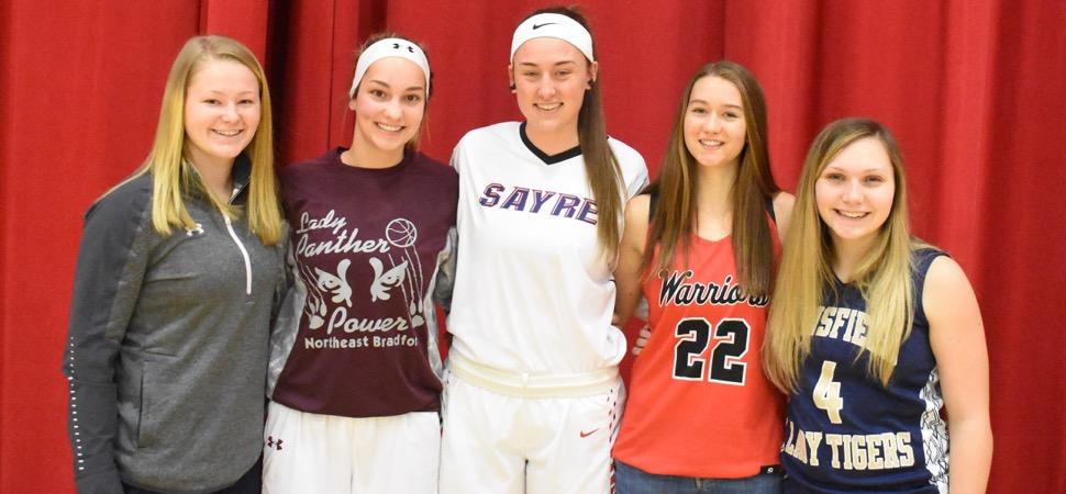 2018-19 NTL Small School Girls Basketball All-Stars announced.