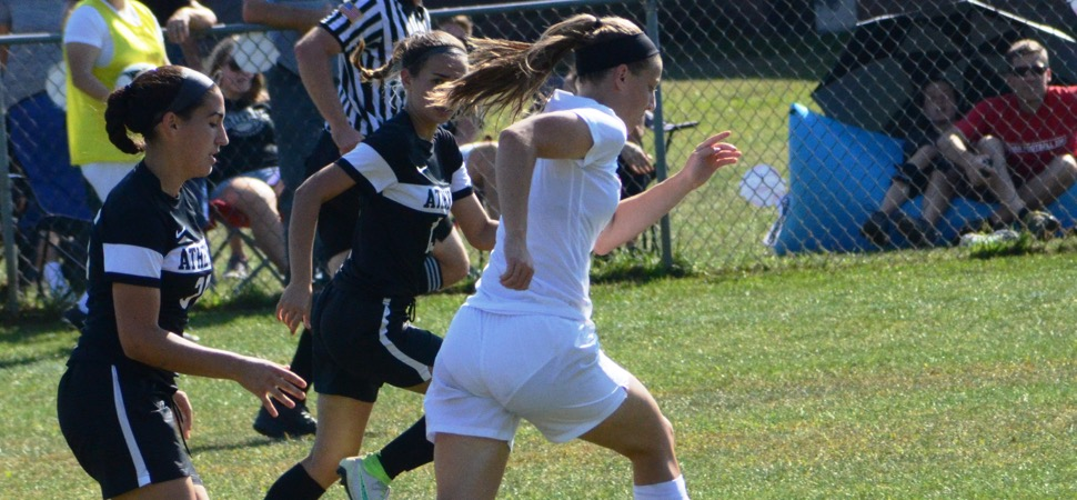 Athens girls soccer ties Troy