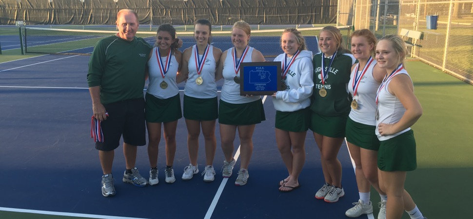 Hughesville claims D4 girls tennis championship