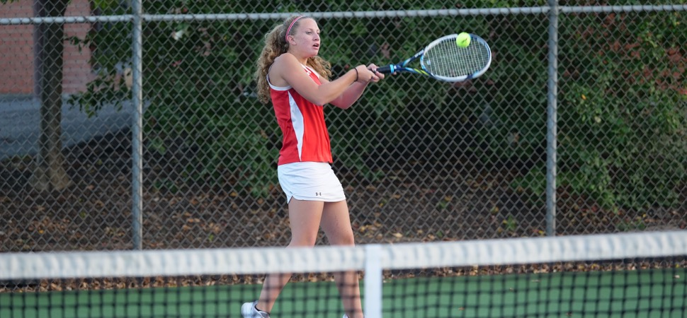 Montgomery girls tennis knocks off Wellsboro.