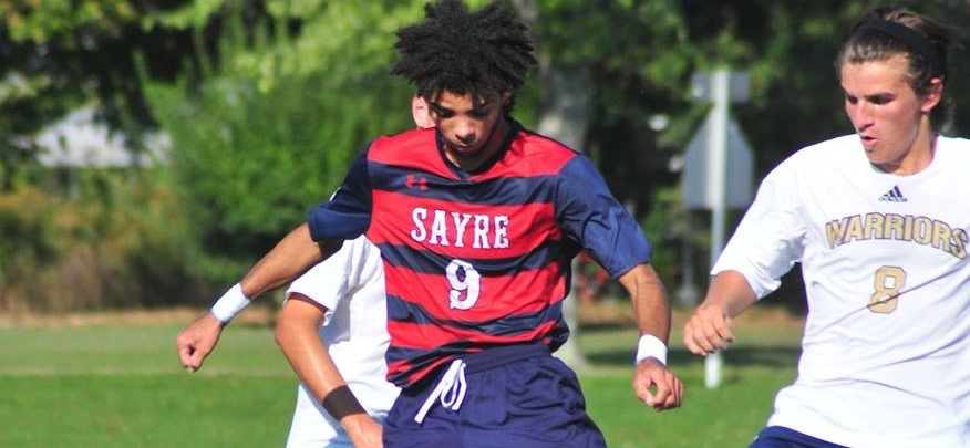 Sayre boys soccer edge Williamson, 5-4