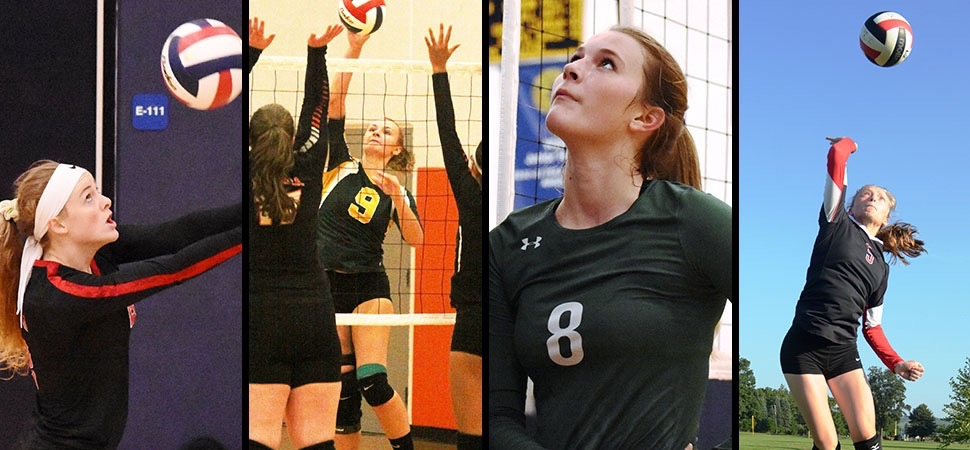 4 District IV girls named to All-State Volleyball team.