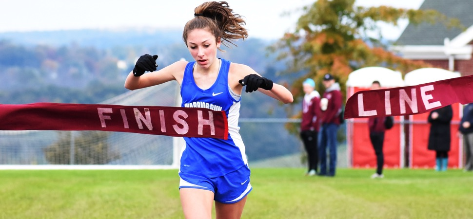 October 25 D4 Girls XC Championship Scoreboard.