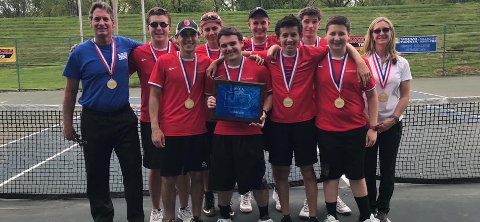 Williamsport wins District 2-4 AAA Boys Tennis team championship