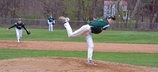 JV baseball sweeps doubleheader against Sayre