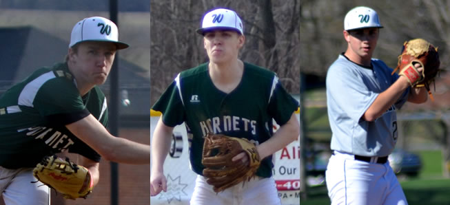 3 Hornets earn NTL All-Star baseball honors.