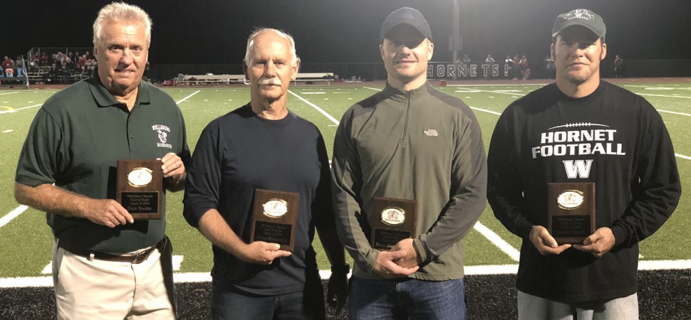 Wellsboro inducts Hall of Fame Class of 2018.