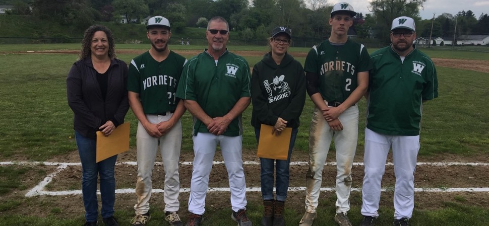 Hornets split doubleheader with Wyalusing and Danville