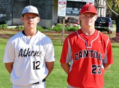 Canton's Chase Pepper took home double NTL honors