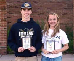 Adams, Raupers named Newcomers of the Year