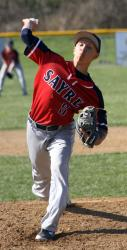 Sayre baseball edges NEB
