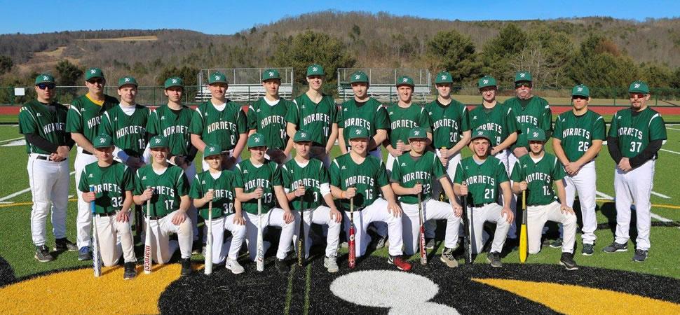 2018 Wellsboro Hornets Varsity Baseball Roster