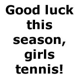 2018 Girls Tennis Parents