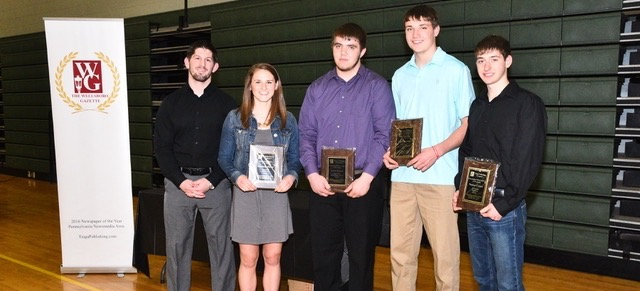 Cotner, Poirier named Wellsboro Gazette Athletes of the Winter Season