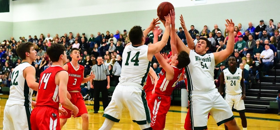 Hornets secure Class AAA playoff victory over Bloomsburg.