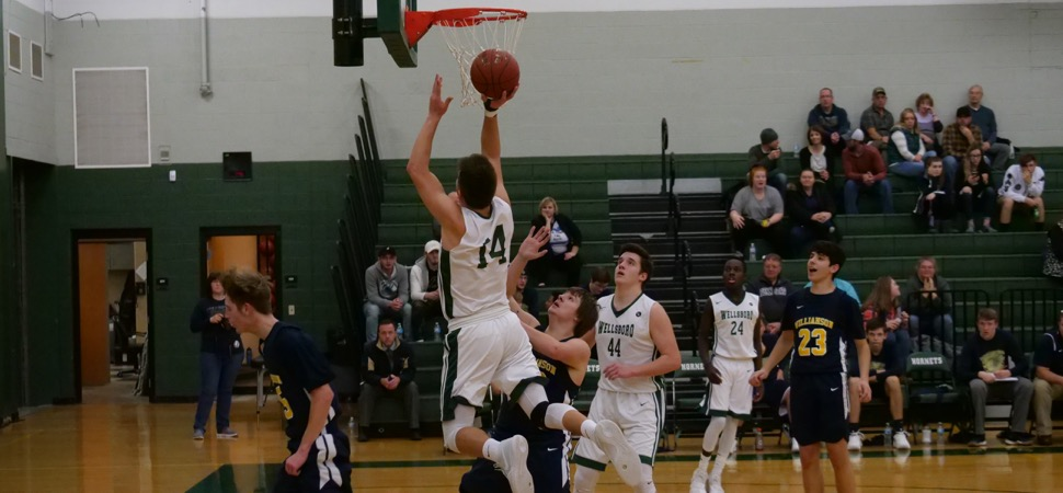 Hornets wallop Williamson, 89-26.