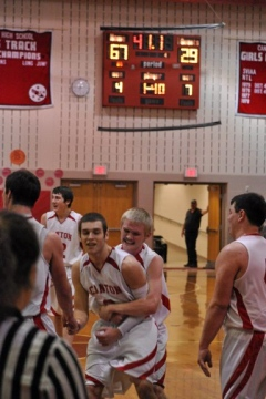 2013 Canton vs. Northeast Bradford Boys Basketball