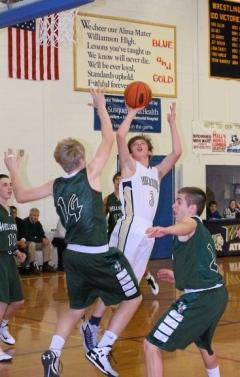 2015 Wellsboro vs. Williamson Boys Basketball