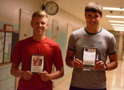 Bodine, Burleigh named Daily Review Co-Male Athletes of the Year