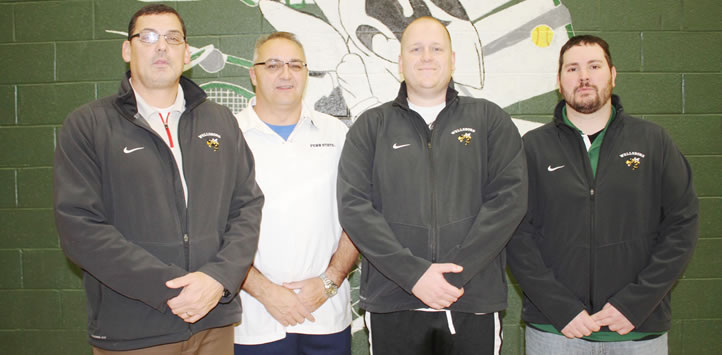 2017 Wellsboro Boys Basketball Coaching Staff