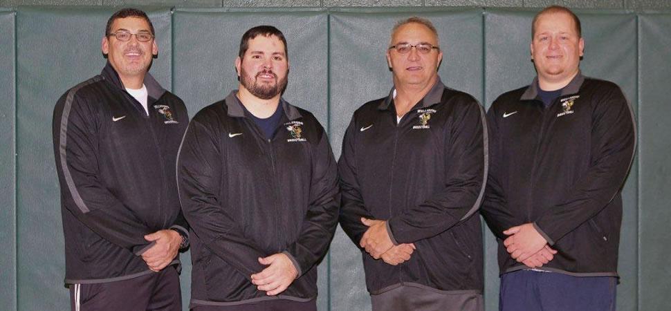 2017 Wellsboro Hornets Boys Basketball Coaching Staff