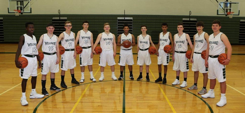 2017 Wellsboro Junior Varsity Boys Basketball Team