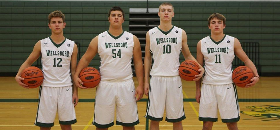 2017 Wellsboro Boys Basketball Senior Class