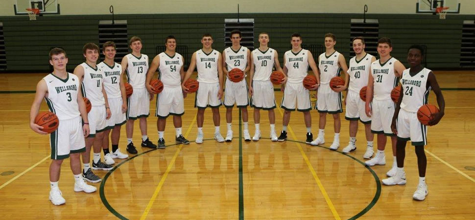 2017 Wellsboro Varsity Boys Basketball Team