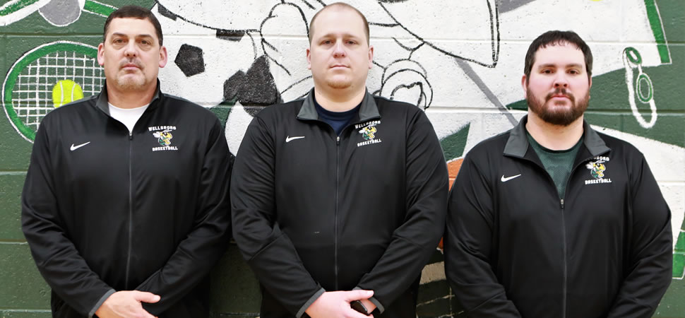 2018 Wellsboro Hornets Boys Basketball Coaching Staff