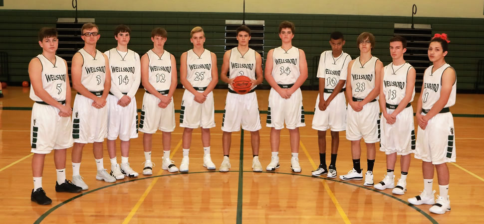 2018 Wellsboro Hornets Junior Varsity Boys Basketball Roster