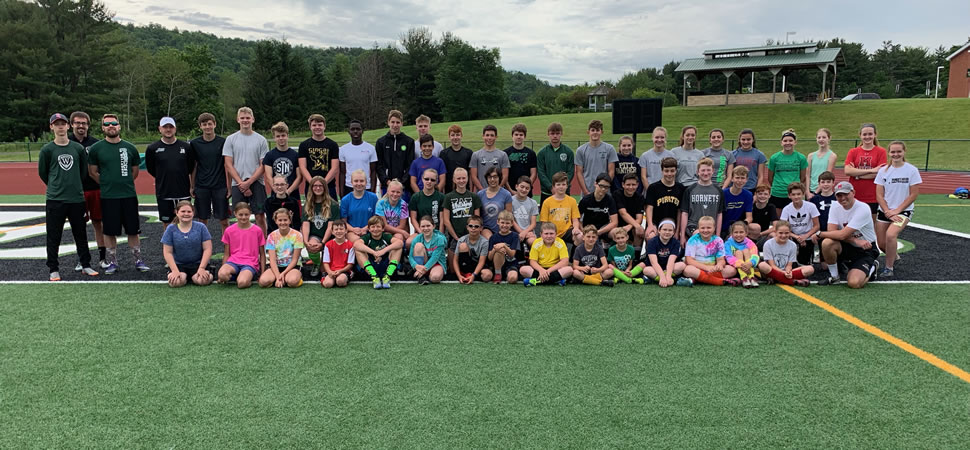 Hornet Soccer teams hold pre-season camp