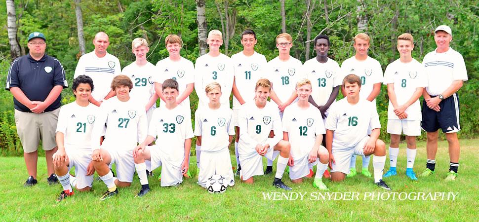 2017 Wellsboro Hornets Junior Varsity Boys Soccer Roster